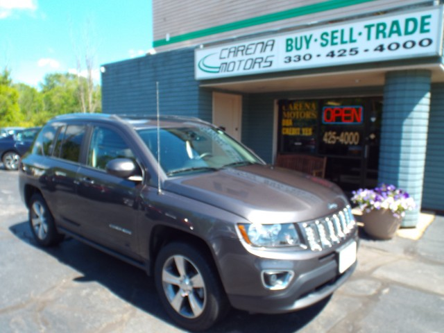 2016 JEEP COMPASS HIGH ALTITUDE for sale in Twinsburg, Ohio