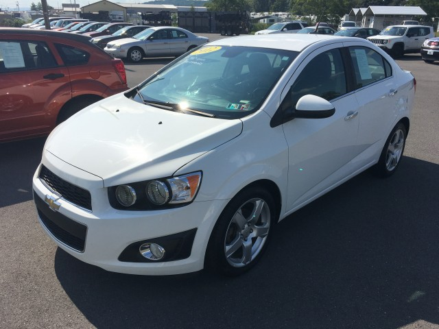 2012 Chevrolet Sonic 2LTZ Sedan for sale at Mull's Auto Sales