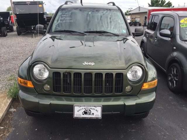 2006 Jeep Liberty Sport 4WD for sale at Mull's Auto Sales