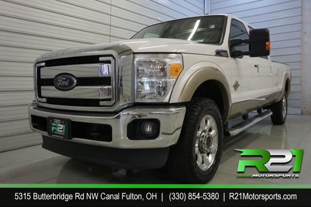 2015 Ford F-250 SD Lariat Crew Cab 4WD -   2015 - 6.7 POWER STROKE - UNDER 100K - UNDER $40K - CALL 330-854-5380 TODAY!! for sale at R21 Motorsports