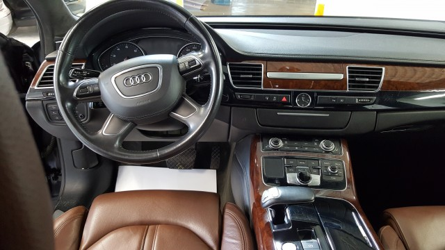 2011 AUDI A8 L QUATTRO for sale at Tradewinds Motor Center