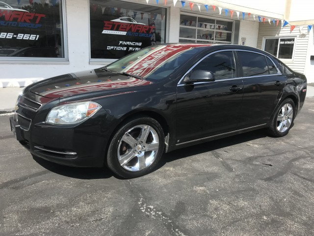 2009 CHEVROLET MALIBU 1LT for sale at Stewart Auto Group