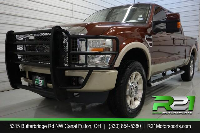 2008 FORD F-250 SD XLT CREW CAB 4WD for sale at R21 Motorsports