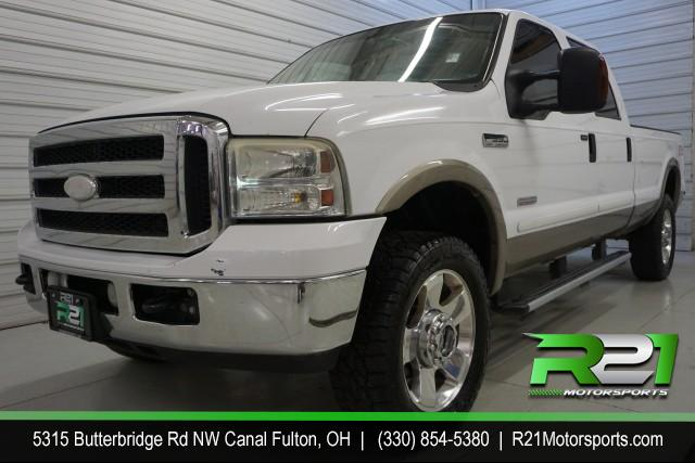 2006 FORD F-250 SD HARLEY DAVIDSON EDITION CREW CAB 4WD for sale at R21 Motorsports