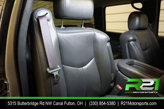 2006 GMC SIERRA 2500HD SLT CREW CAB 4WD 6.6L DURAMAX DIESEL--INTERNET SALE PRICE ENDS SATURDAY JUNE 6TH for sale at R21 Motorsports