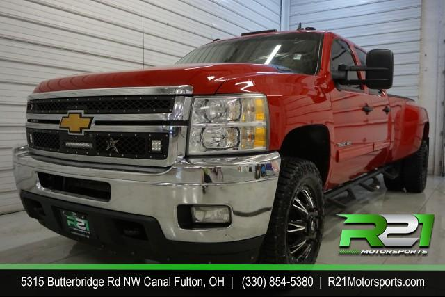2011 CHEVROLET SILVERADO 3500HD LT CREW CAB 4WD DRW--INTERNET SALE PRICE ABSOLUTELY ENDS SATURDAY DECEMBER 7TH!! for sale at R21 Motorsports