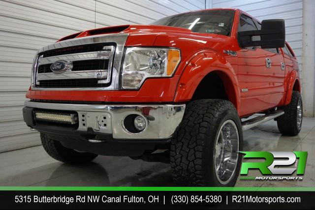 2016 FORD F-150 XLT SUPER CREW 6.5-FT BED 4WD for sale at R21 Motorsports
