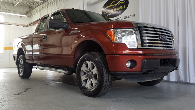 2014 FORD F150 STX SUPER CAB for sale at Tradewinds Motor Center