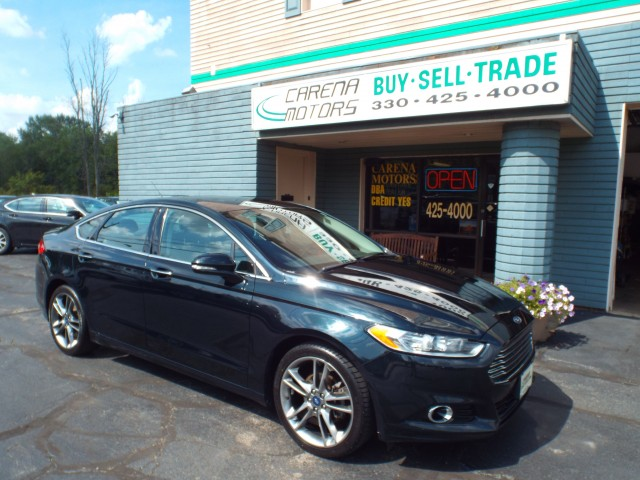 2014-FORD-FUSION-TITANIUM-FOR-SALE-Twinsburg-Ohio for sale at Carena Motors