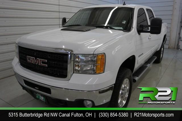 2012 GMC SIERRA 2500HD SLT CREW CAB 4WD--INTERNET SALE PRICE ABSOLUTELY ENDS SATURDAY NOVEMBER 16TH!! for sale at R21 Motorsports