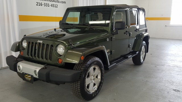 2008 JEEP WRANGLER UNLIMI SAHARA for sale at Tradewinds Motor Center