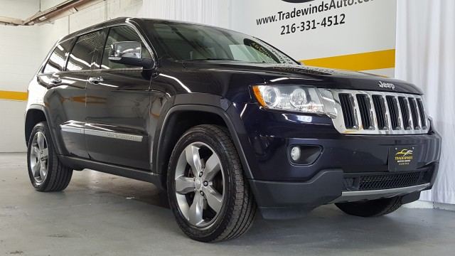 2011 JEEP GRAND CHEROKEE LIMITED for sale at Tradewinds Motor Center