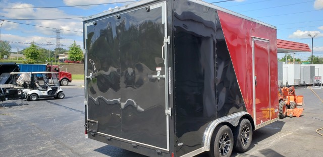 2020 ANVIL 8 X 14 ENCLOSED  for sale at Mull's Auto Sales