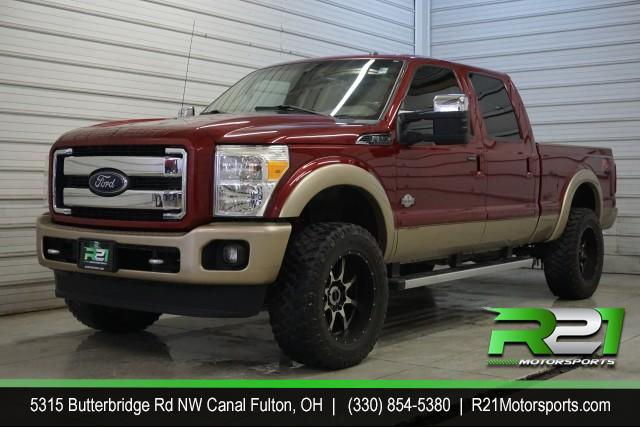 2013 Ford F-250 SD Lariat Crew Cab Long Bed 4WD for sale at R21 Motorsports