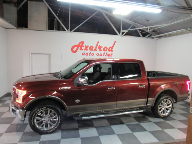 2015 Ford F-150 King-Ranch SuperCrew 5.5-ft. Bed 4WD in Cleveland
