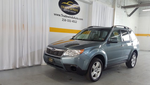 2010 SUBARU FORESTER 2.5X PREMIUM for sale at Tradewinds Motor Center