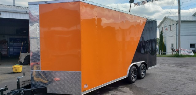 2020 ANVIL 8.5 X 18 ENCLOSED  for sale at Mull's Auto Sales