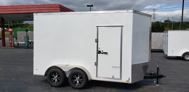 2021 ANVIL 7 X 12 ENCLOSED  for sale at Mull's Auto Sales
