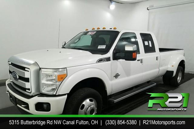 2014 RAM 3500 LARAMIE CREW CAB LWB 4WD DRW 6.7L CUMMINS DIESEL! for sale at R21 Motorsports
