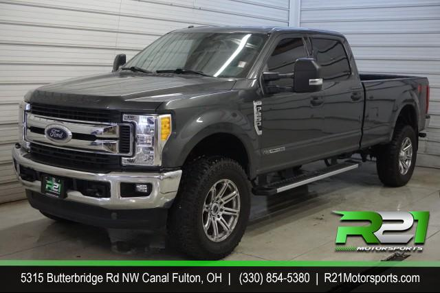 2017 FORD F-250 SD LARIAT CREW CAB LONG BED 4WD 6.7L POWERSTROKE DIESEL for sale at R21 Motorsports