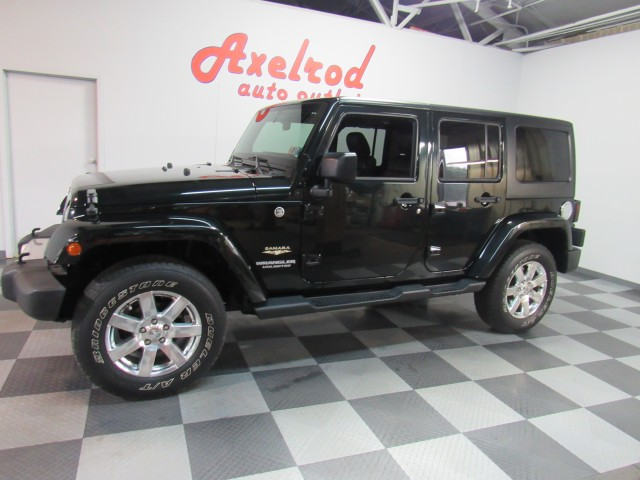 ... 2012 Jeep Wrangler Unlimited Sahara 4WD In Cleveland ...