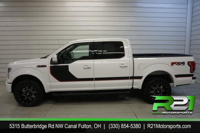 2017 Ford F-150 Lariat SuperCrew--INTERNET SALE PRICE ENDS SATURDAY DECEMBER 16TH!! for sale at R21 Motorsports