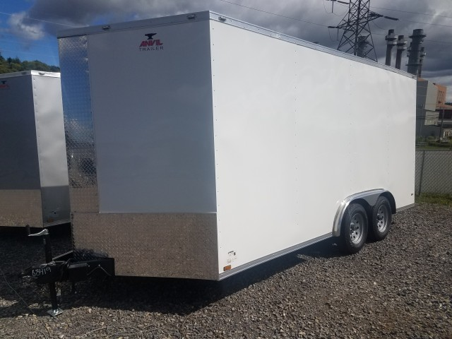 2019 ANVIL 8.5 X 16 ENCLOSED  for sale at Mull's Auto Sales