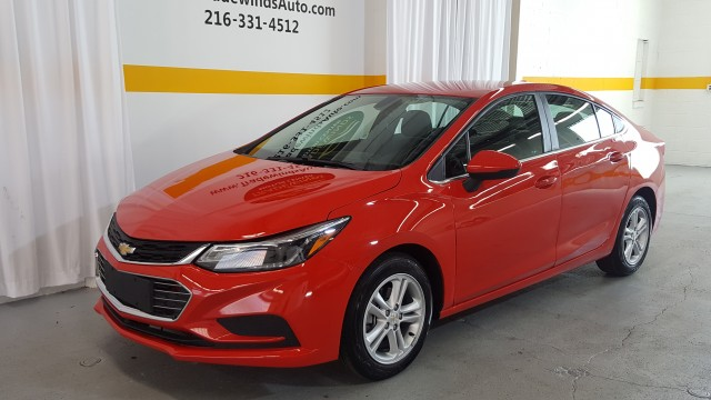 2018 CHEVROLET CRUZE LT for sale at Tradewinds Motor Center