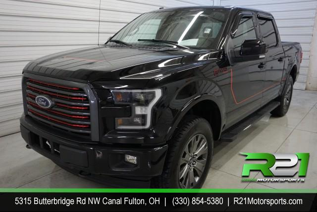 2017 Ford F-150 Lariat SuperCrew  for sale at R21 Motorsports