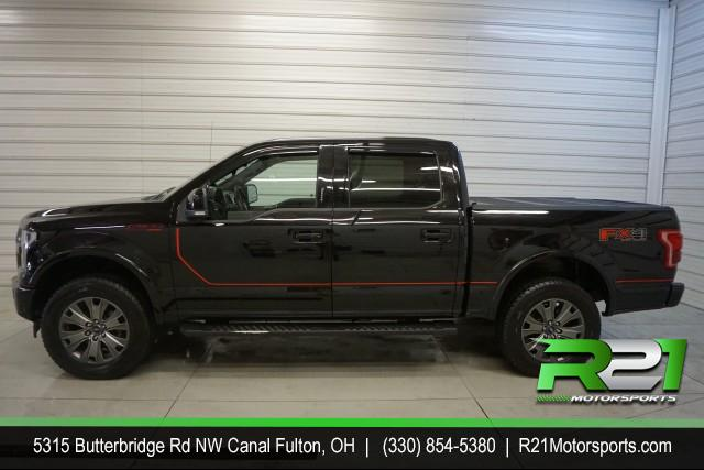 2015 FORD F-250 SD LARIAT CREW CAB 4WD FX4 POWERSTROKE for sale at R21 Motorsports