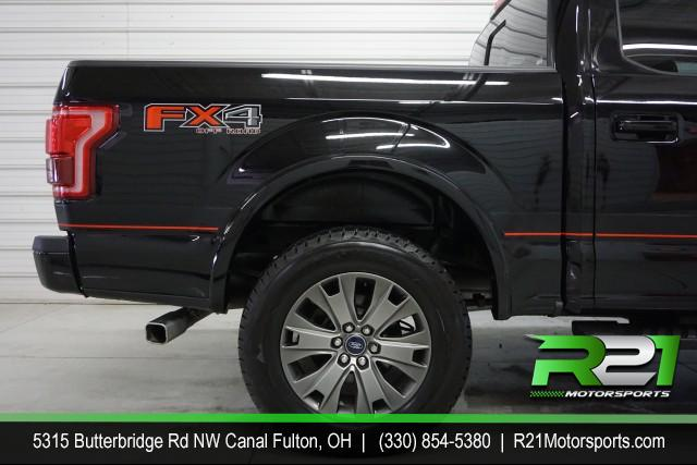 2017 FORD F-150 LARIAT CREW CAB 4WD FX4 POWERSTROKE DIESEL--INTERNET SALE PRICE ENDS SATURDAY MARCH 14TH for sale at R21 Motorsports