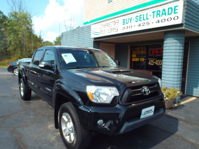 2012 TOYOTA TACOMA DOUBLE CAB LONG BED for sale in Twinsburg, Ohio