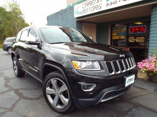 2015 JEEP GRAND CHEROKEE LIMITED for sale in Twinsburg, Ohio