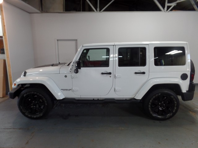 2014 Jeep Wrangler Unlimited Sahara Polar Edition For Sale At