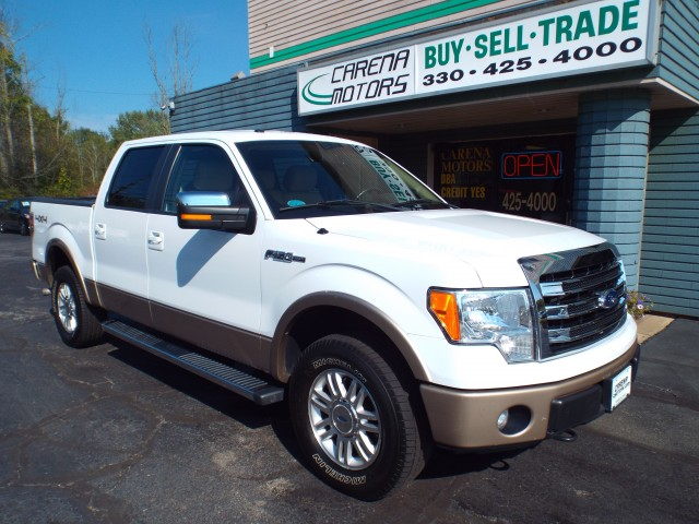 2013 FORD F150 SUPERCREW LARIAT for sale in Twinsburg, Ohio