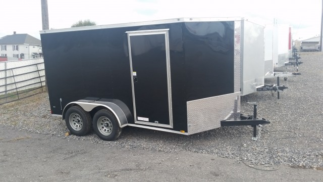 2018 ANVIL 7 X 12 ENCLOSED  for sale at Mull's Auto Sales