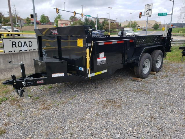 2018 FORCE 7 X  14 DUMP TRAILER   for sale at Mull's Auto Sales