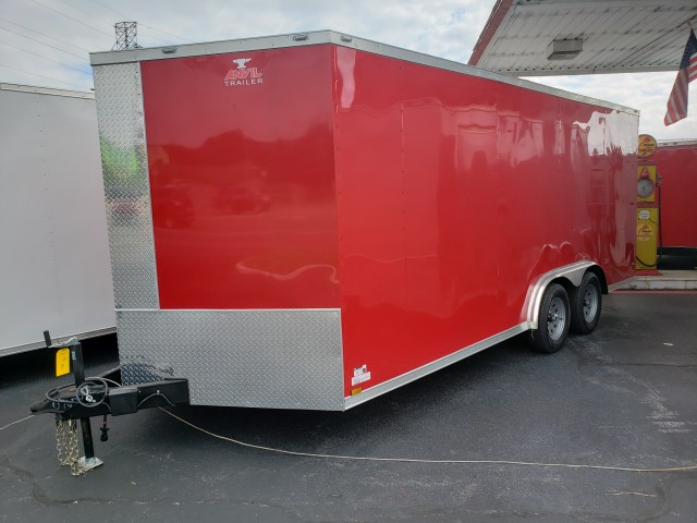 2019 ANVIL 8 x 18 ENCLOSED   for sale at Mull's Auto Sales