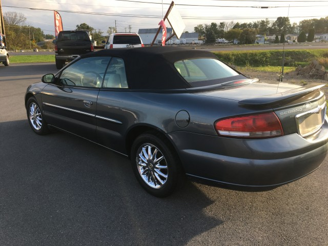 2002 Chrysler Sebring Limited Convertible for sale at Mull's Auto Sales