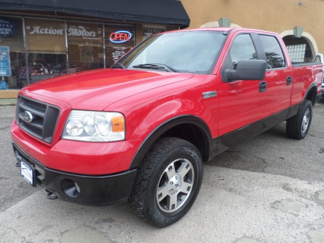 2006 FORD F150 SUPERCREW for sale at Action Motors