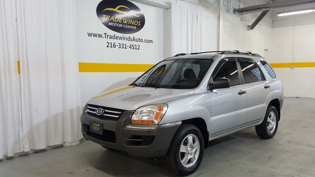 2008 KIA SPORTAGE LX for sale at Tradewinds Motor Center