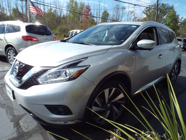 2015 NISSAN MURANO PLATINUM for sale at Carena Motors