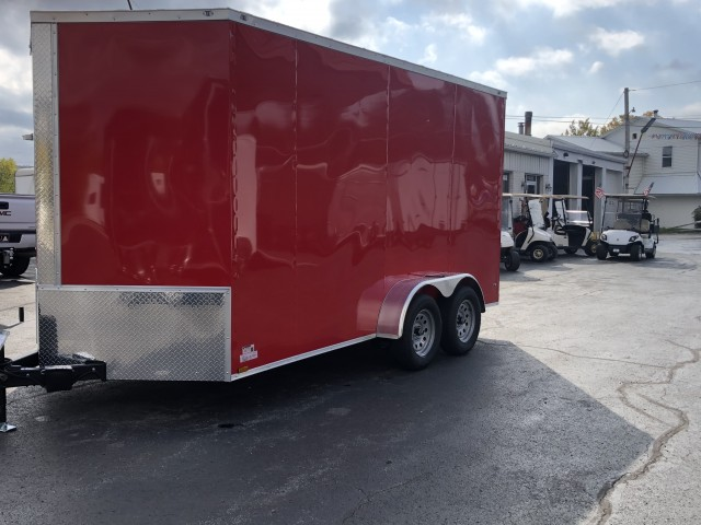 2021 ANVIL 7 X 14 ENCLOSED  for sale at Mull's Auto Sales
