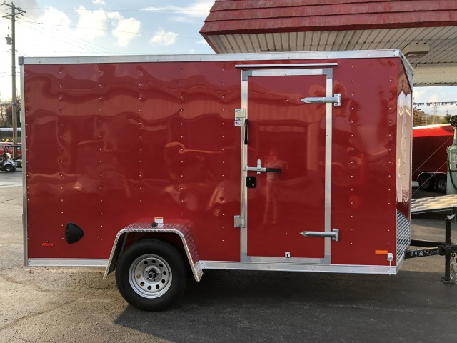 2021 RC 6 X 12 ENCLOSED  for sale at Mull's Auto Sales
