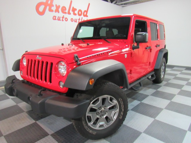2016 Jeep Wrangler Unlimited Rubicon 4WD