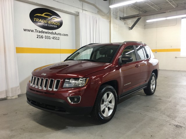 2013 JEEP COMPASS LATITUDE for sale at Tradewinds Motor Center
