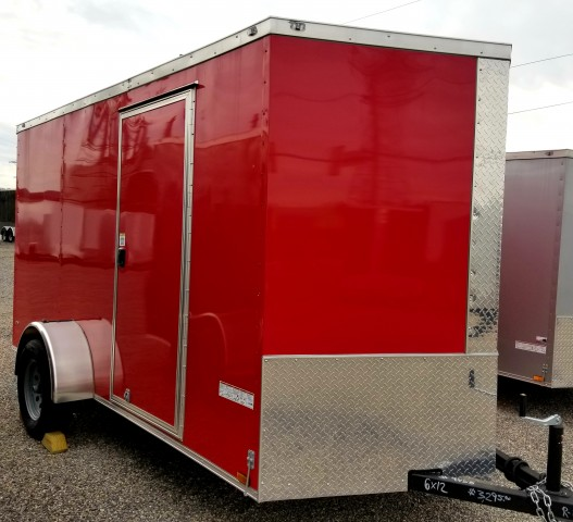 2019 ANVIL 6�12 ENCLOSED  for sale at Mull's Auto Sales