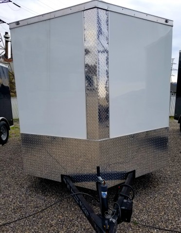 2019 ANVIL 7�14 ENCLOSED  for sale at Mull's Auto Sales