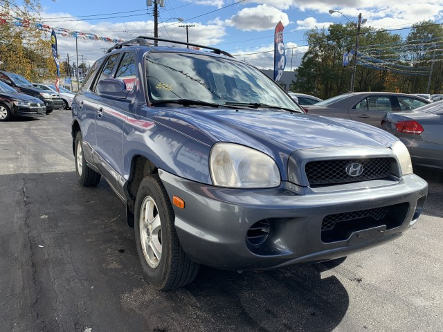 2003 HYUNDAI SANTA FE GL for sale at Stewart Auto Group