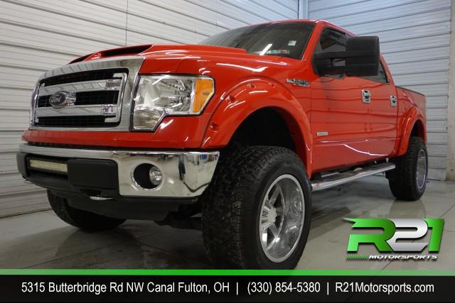 2013 Ford F-250 SD LARIAT CREW CAB 4WD for sale at R21 Motorsports